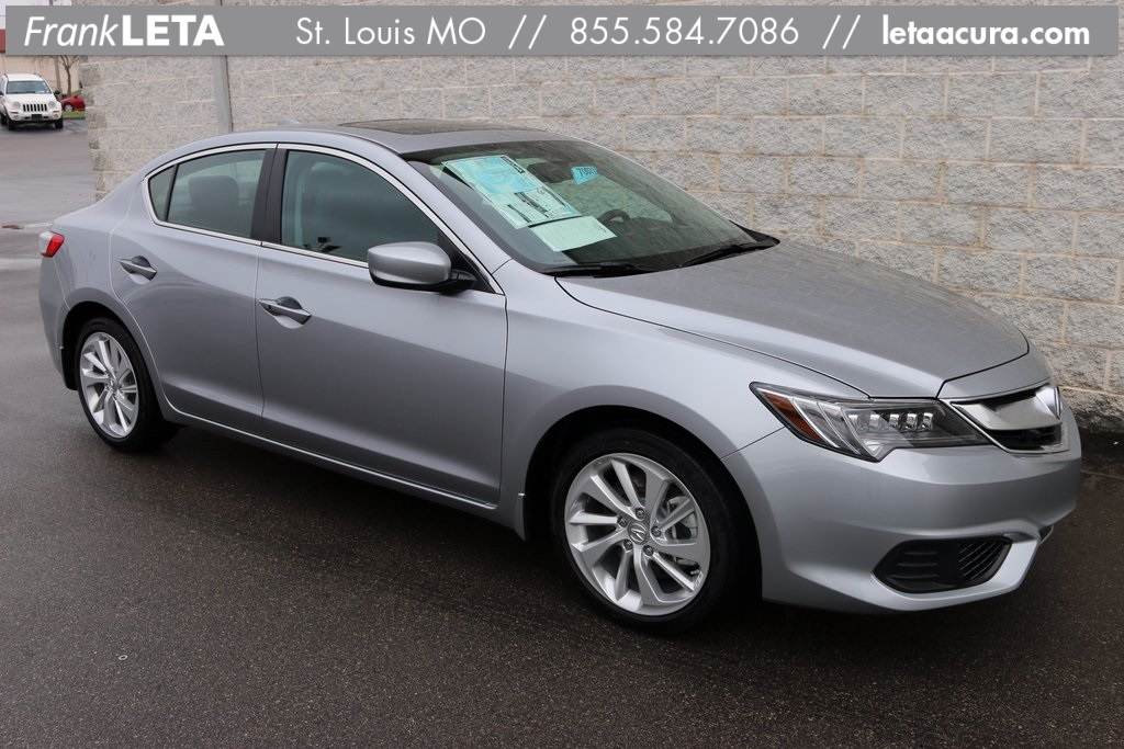 pre owned 2017 acura ilx premium package 4d sedan in st louis sl70079 frank leta acura. Black Bedroom Furniture Sets. Home Design Ideas