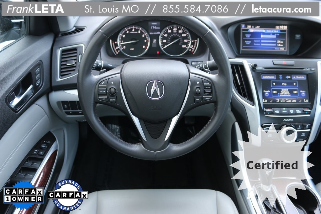 acura tlx inventory pre car owned tech chicagoland fwd dealers certified