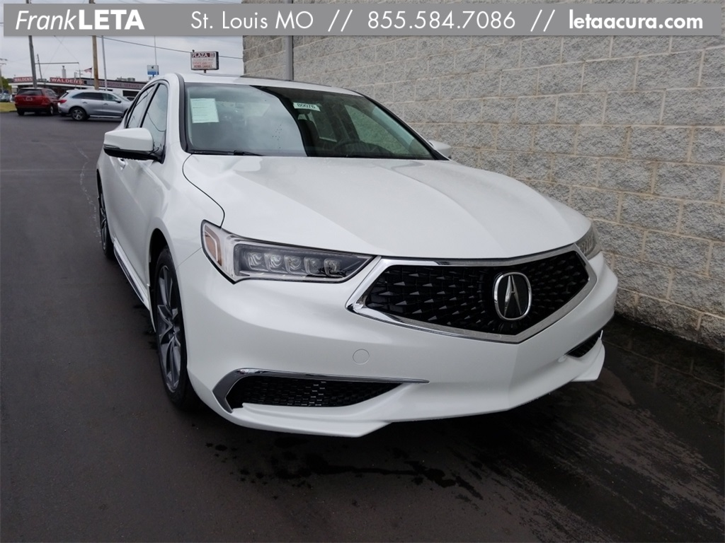 pre owned 2018 acura tlx 3 5l v6 4d sedan in st louis sl80076