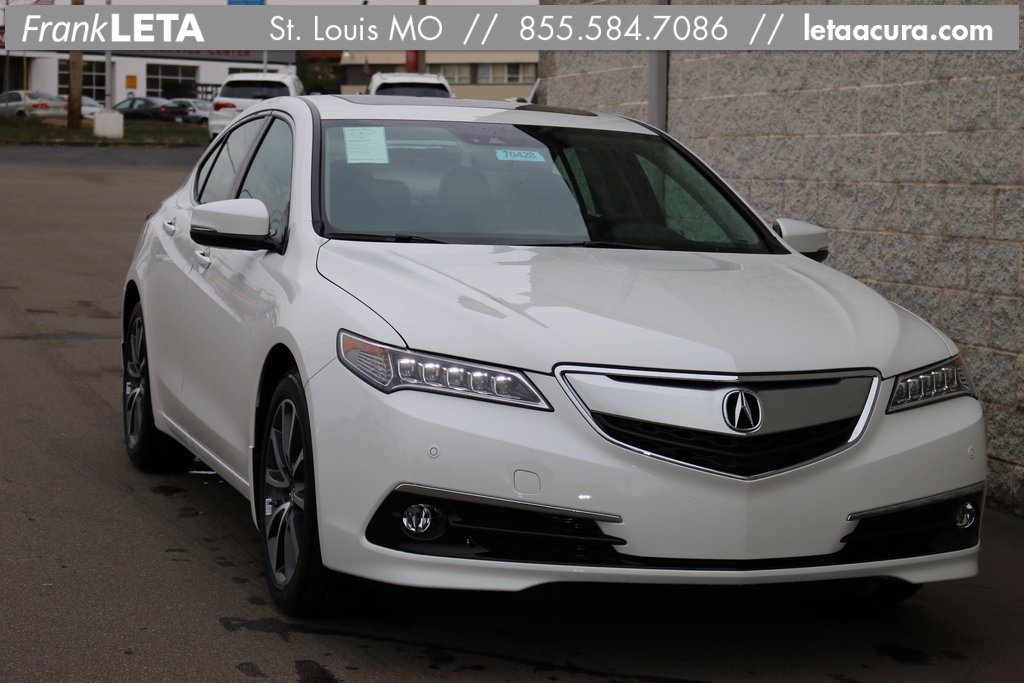 pre owned 2017 acura tlx 3 5l v6 4d sedan in st louis sl70428