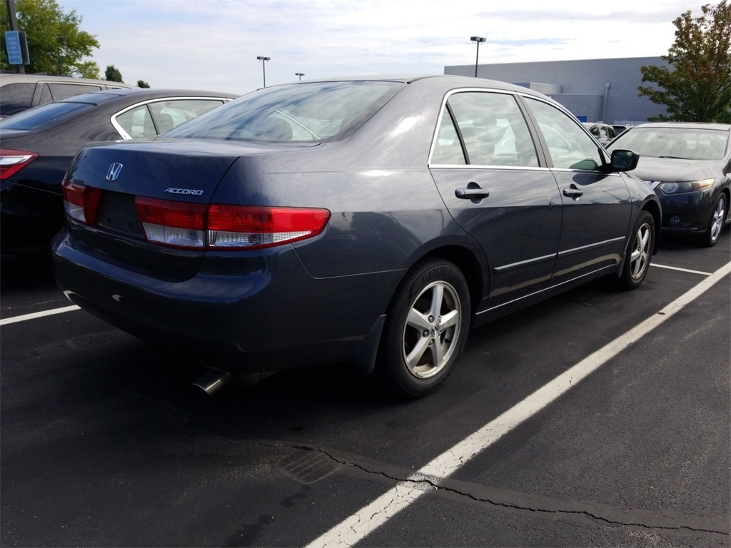 Pre Owned 2003 Honda Accord Ex 4d Sedan In St Louis 181275a Tail Light