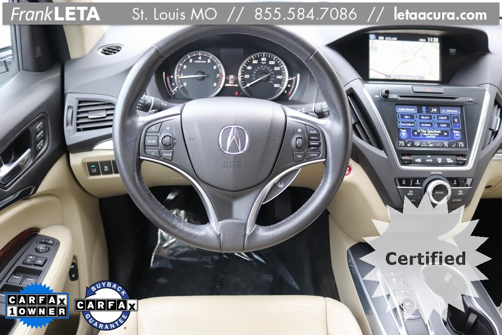 Certified PreOwned Acura MDX SHAWD With Technology Package D - Pre own acura