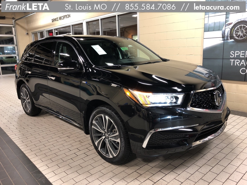 New 2019 Acura Mdx Sport Hybrid Sh Awd With Technology Package