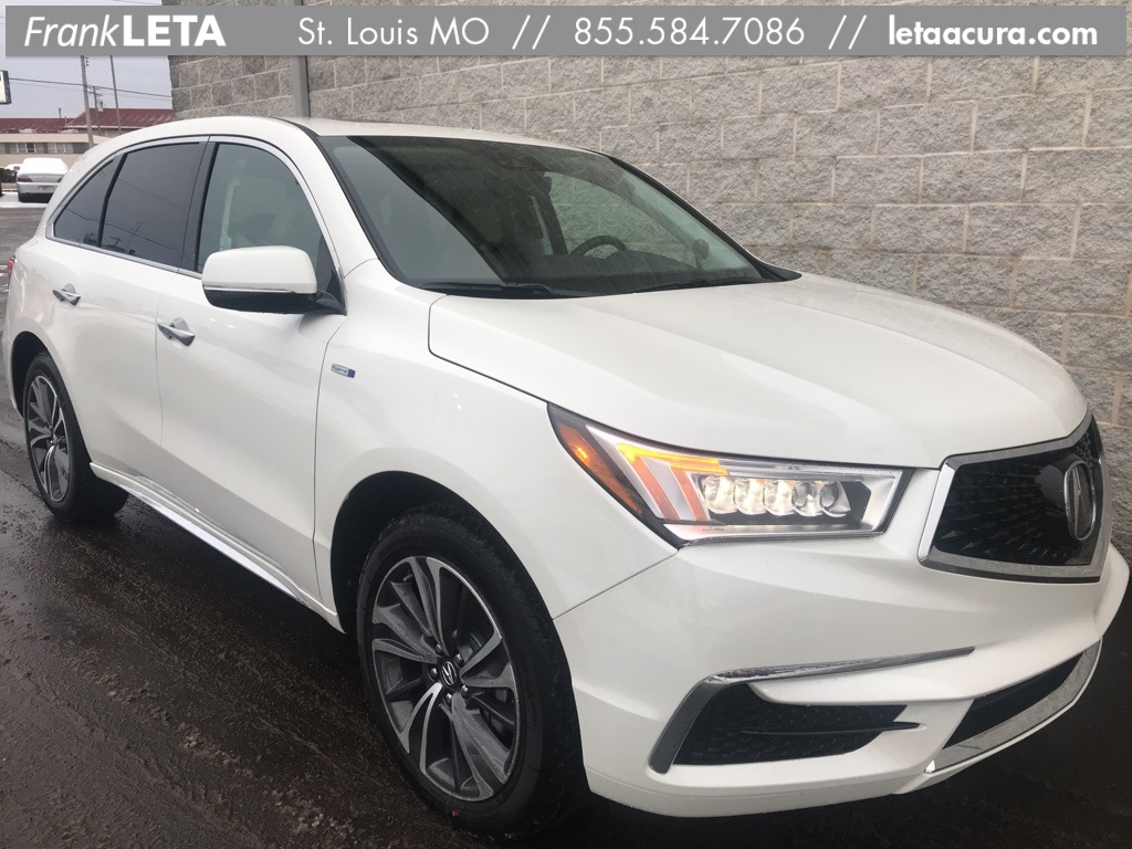 New 2019 Acura MDX Sport Hybrid Sport Hybrid SH-AWD with Technology Package