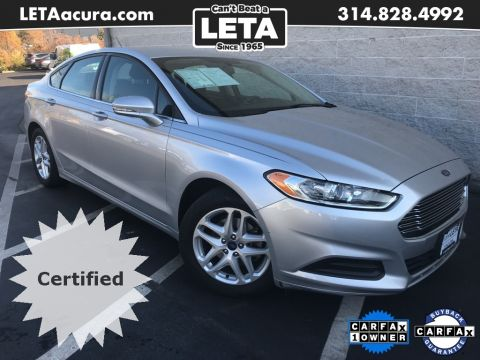 Pre-Owned 2016 Ford Fusion SE 4D Sedan
